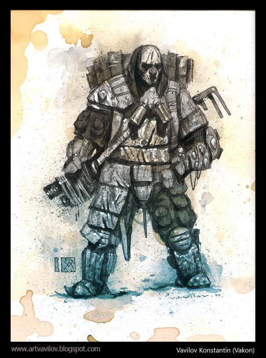 Stalker Big Guy by Konstantin-Vavilov