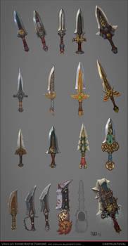 Daggers concepts