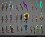 Magic Daggers Concepts