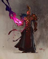 Heavy mage of Golden Legion