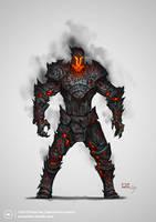 Fiend-powered iron golem by Konstantin-Vavilov