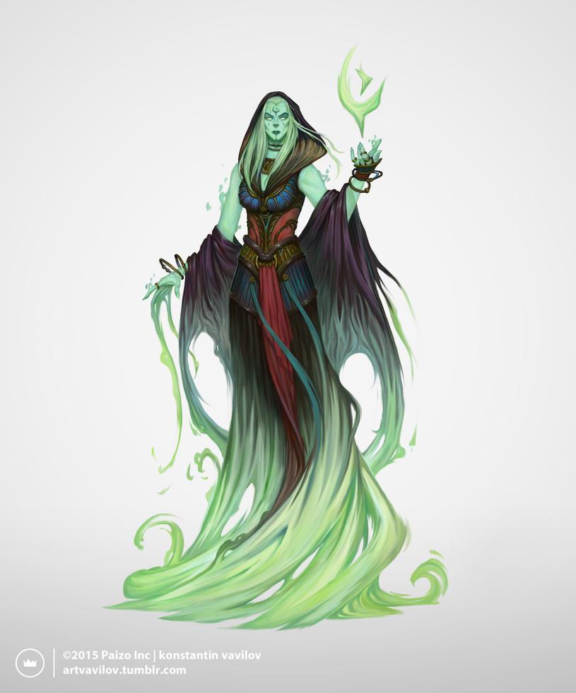 Azlanti Ghost by Konstantin-Vavilov