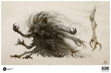 Book of Adria: A Diablo Bestiary | Shadow Vermin by Konstantin-Vavilov
