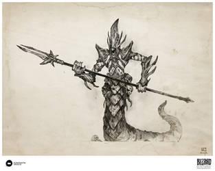 Book of Adria: A Diablo Bestiary | Deceiver by Konstantin-Vavilov