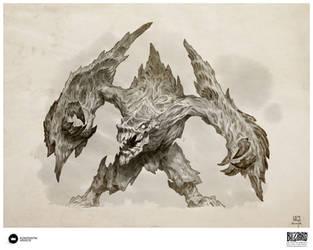 Book of Adria: A Diablo Bestiary | Armored Destroy by Konstantin-Vavilov