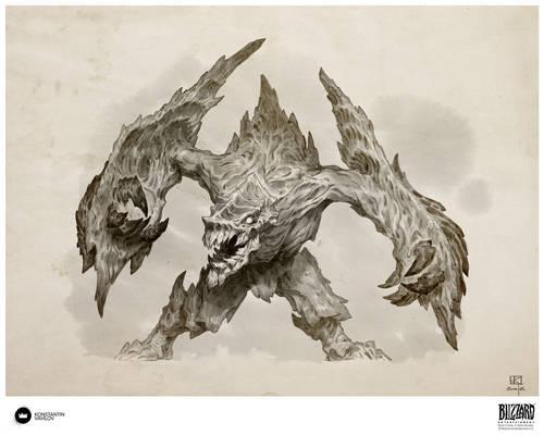 Book of Adria: A Diablo Bestiary   Armored Destroy