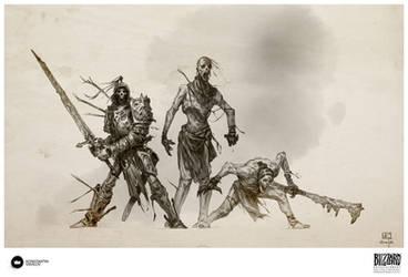 Book of Adria: A Diablo Bestiary | Undead by Konstantin-Vavilov