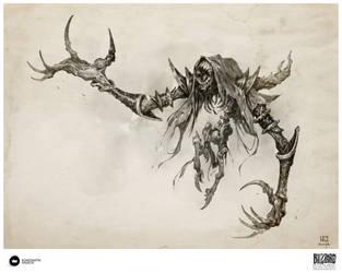 Book of Adria:A Diablo Bestiary Enslaved Nightmare by Konstantin-Vavilov