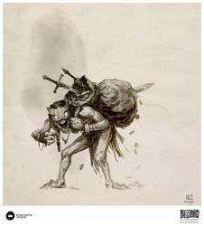 Book of Adria: A Diablo Bestiary | Treasure Goblin by Konstantin-Vavilov