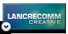 Lancrecomm Creative Logo by filipekastro