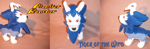 Tiger of the Wind plush