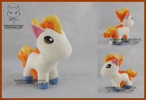SOLD Mini Ponyta by FaytsCreations