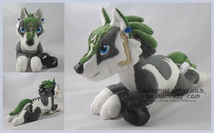 Laying Wolf Link by FaytsCreations