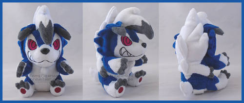 Midnight Lycanroc chibi SOLD by FaytsCreations