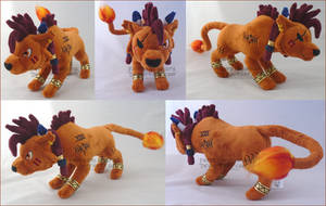 Red XIII Final Fantasy VII comm by FaytsCreations