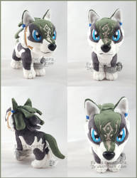 Wolf Link chibi V2 by FaytsCreations