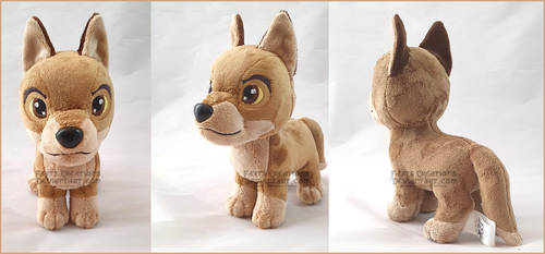 Balto chibi SOLD by FaytsCreations