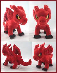 MHA AU Kirishima dragon Comm by FaytsCreations