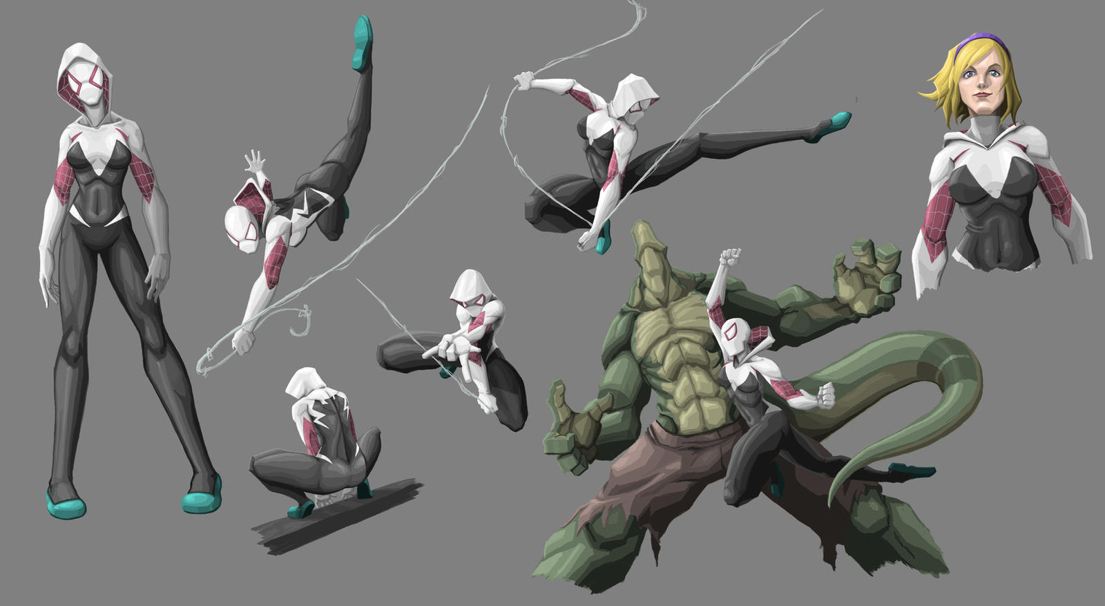 Character Sheet: Spider-Gwen By Itsoy-itsay On DeviantArt