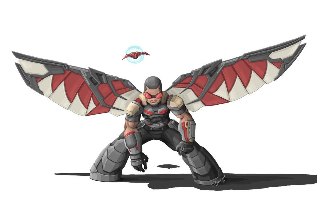 Avengers falcon by itsoy itsay on deviantart - Faucon avengers ...
