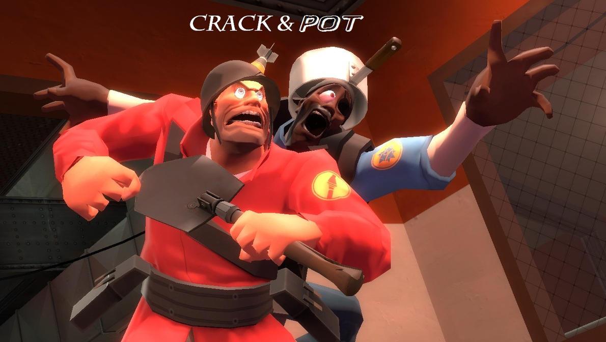 Crack 'n' Pot [ OCs ] by DrexelTheDeviant