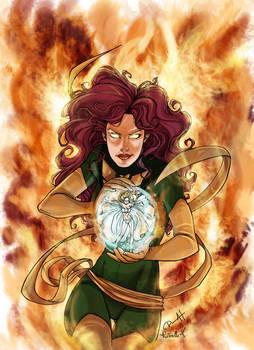 Phoenix VS Emma Frost_col