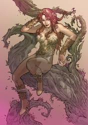Poison Ivy Tribute Colored