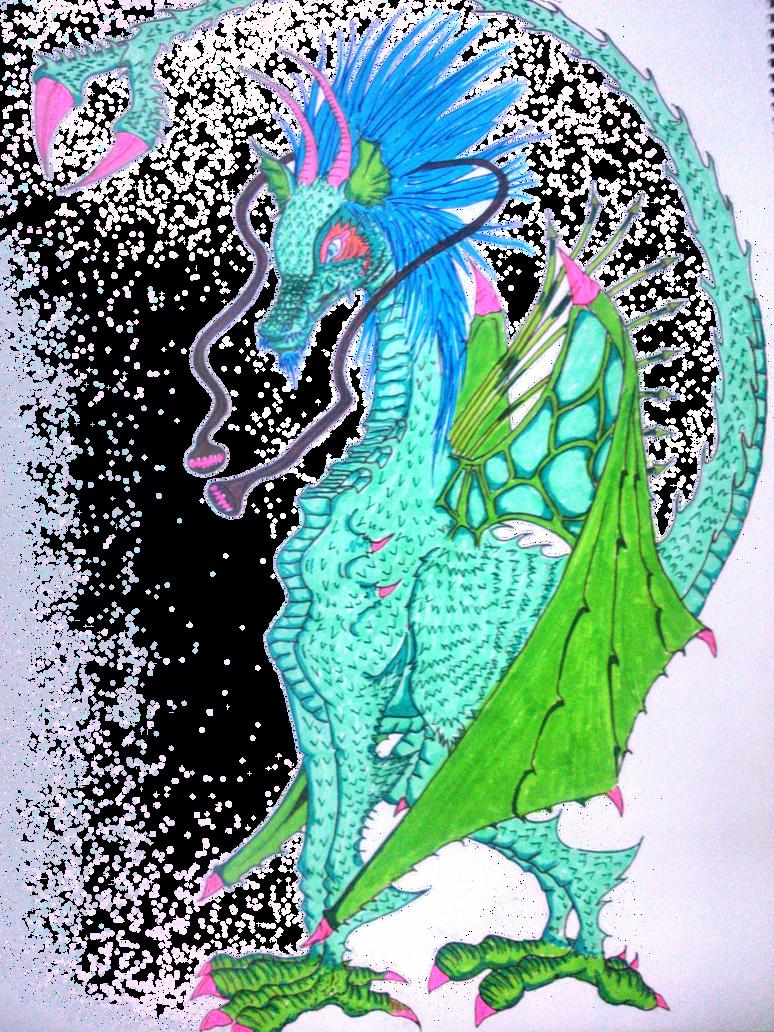 dragon for contest by eiffa2222
