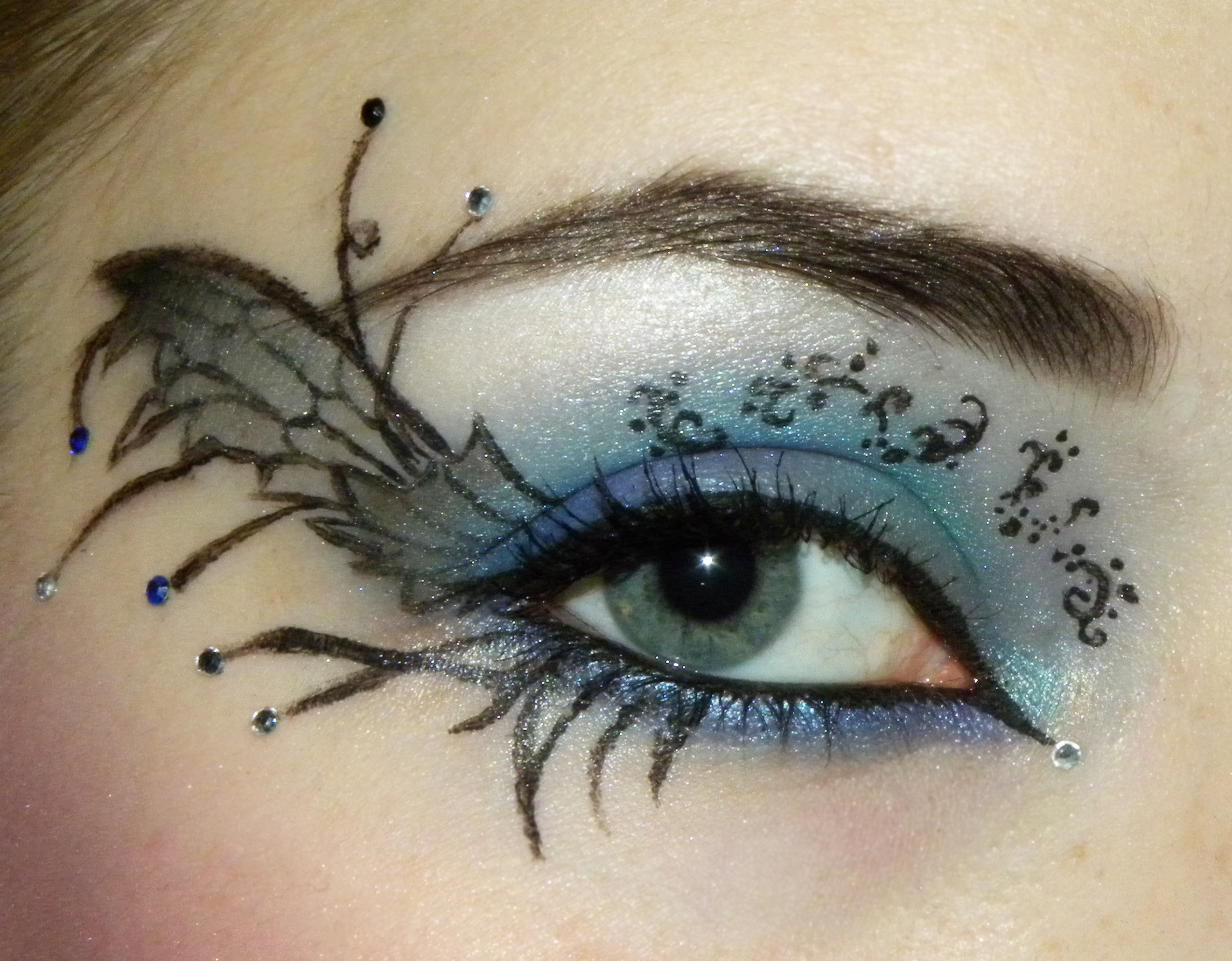 Dark Fairy Look