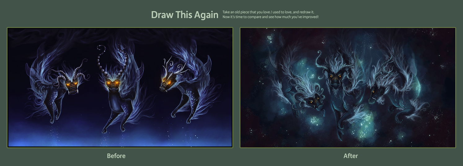 Draw This Again: We Three by Kanizo