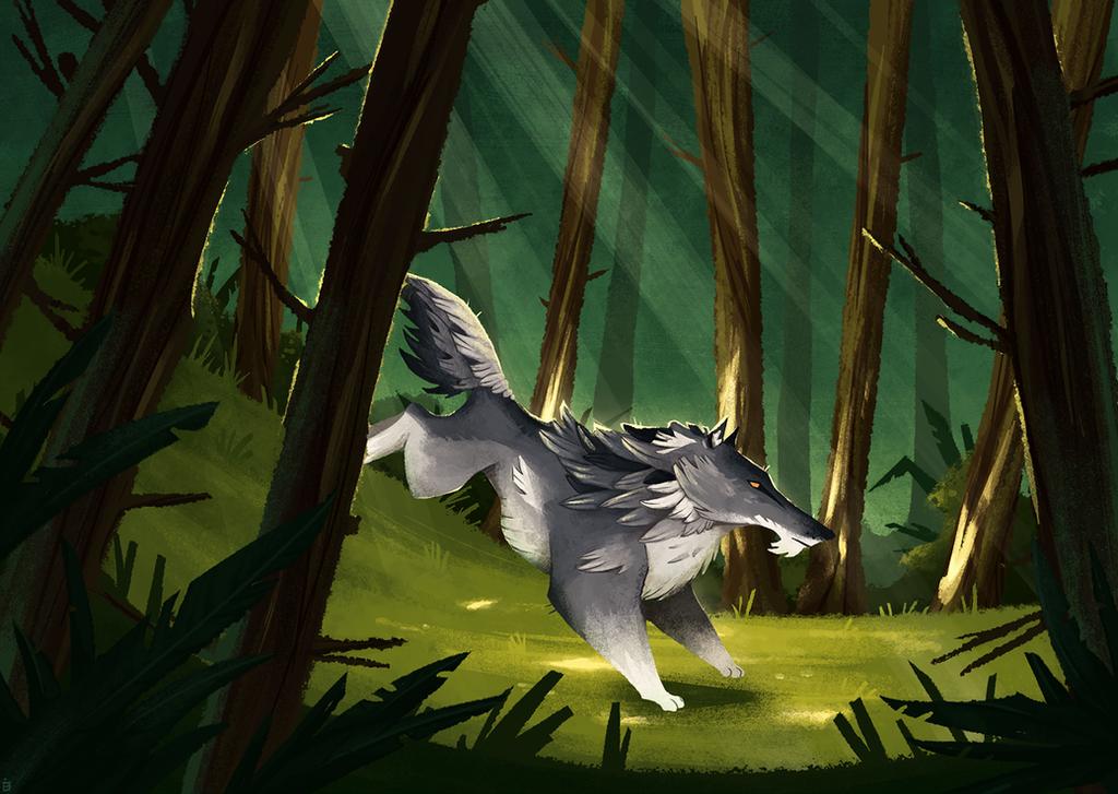 Wolf Woods by Kanizo