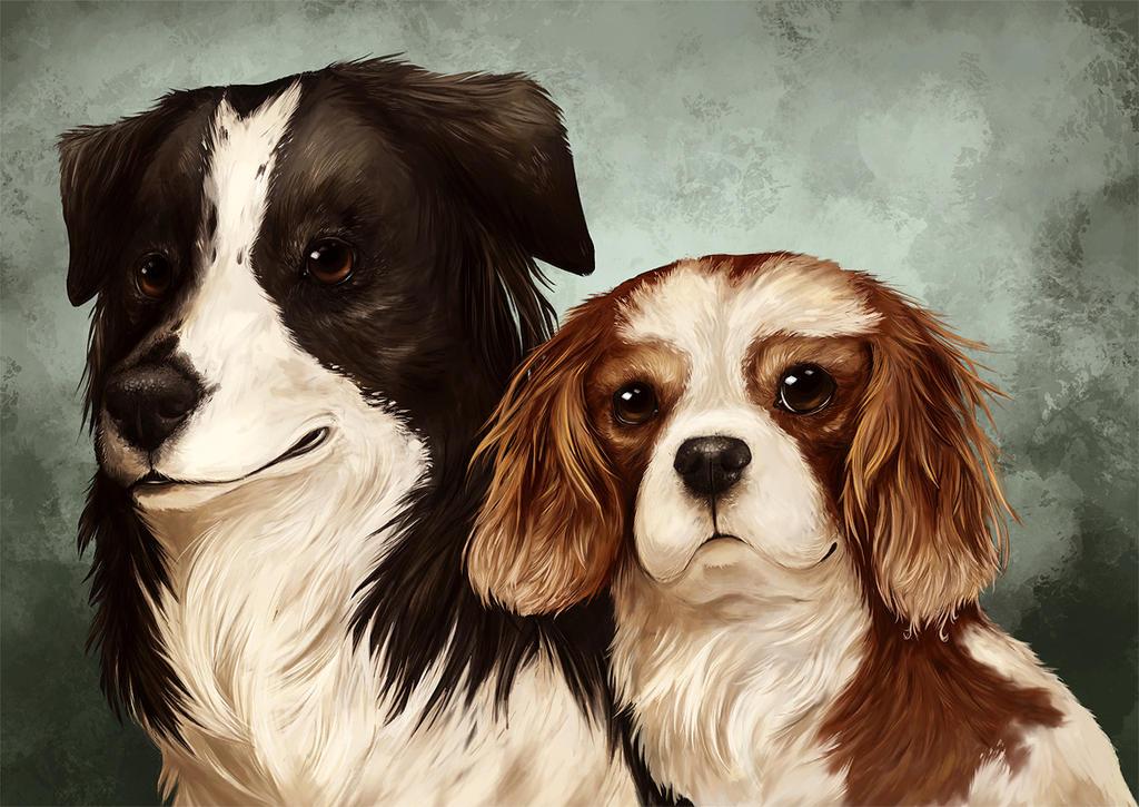Ellie and Rosie by Kanizo