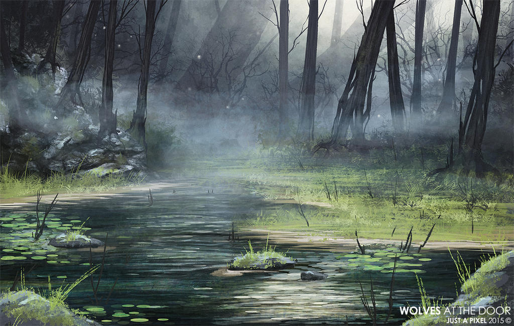 Wolves at the Door - Humid Swamp by Kanizo