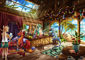The Oasis Bar - Commission