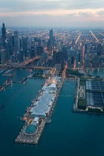 Navy Pier by IaiaRose