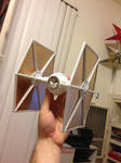 White and Gold TIE Fighter