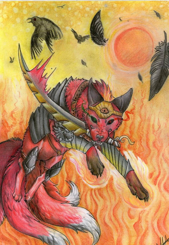 Contest- Kronos in armor by xXAlfaX