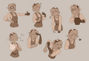 Expressions studies
