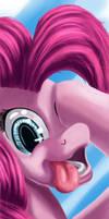 Pinkie Pie promises (GalaCON print)