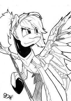 Mercy from Overwarch