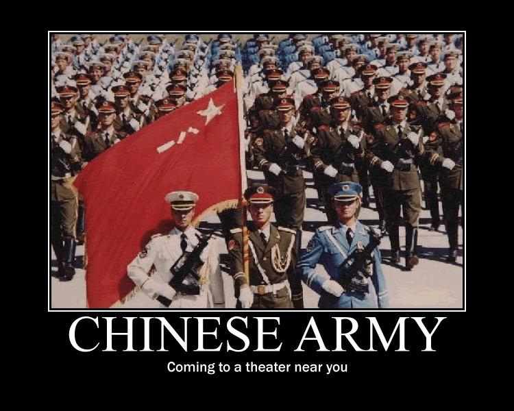 Chinese Army invasion by Nemu-Asakura