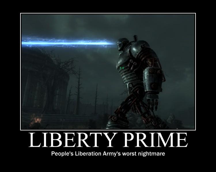 Liberty Prime By Nemu Asakura