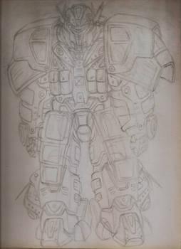 Landsknecht-class Modular Armor Kit System- sketch