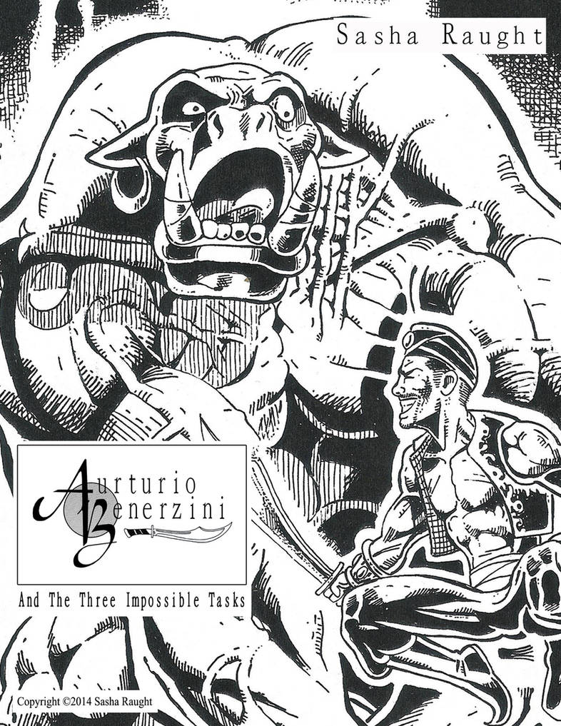 Aurturio Benerzini (Detail) Art PrintE by SashaRaught