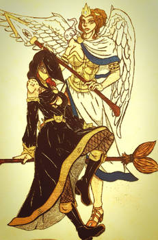 wendy the witch and jane the angel