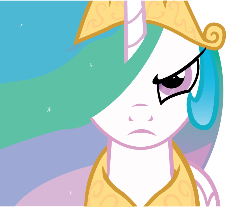 Angry Princess Celestia Princess Celestia Mad by