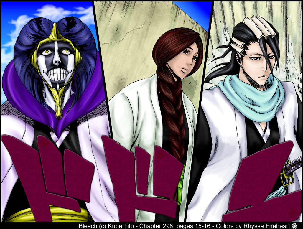 Bleach Captains Ch 298 By RhyssaFireheart On DeviantArt