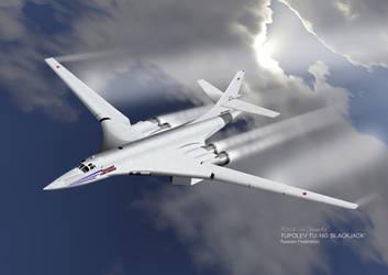 Tupolev TU-160 'Blackjack'