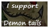 Demon tails stamp by Pixi-Spit