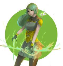 Archer Elf by D-anz